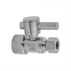 Polished Copper Jaclo 619-6-72-PCU 1//2 IPS x 3//8 O.D Compression Valve Kit with Contemporary Square Lever Handle