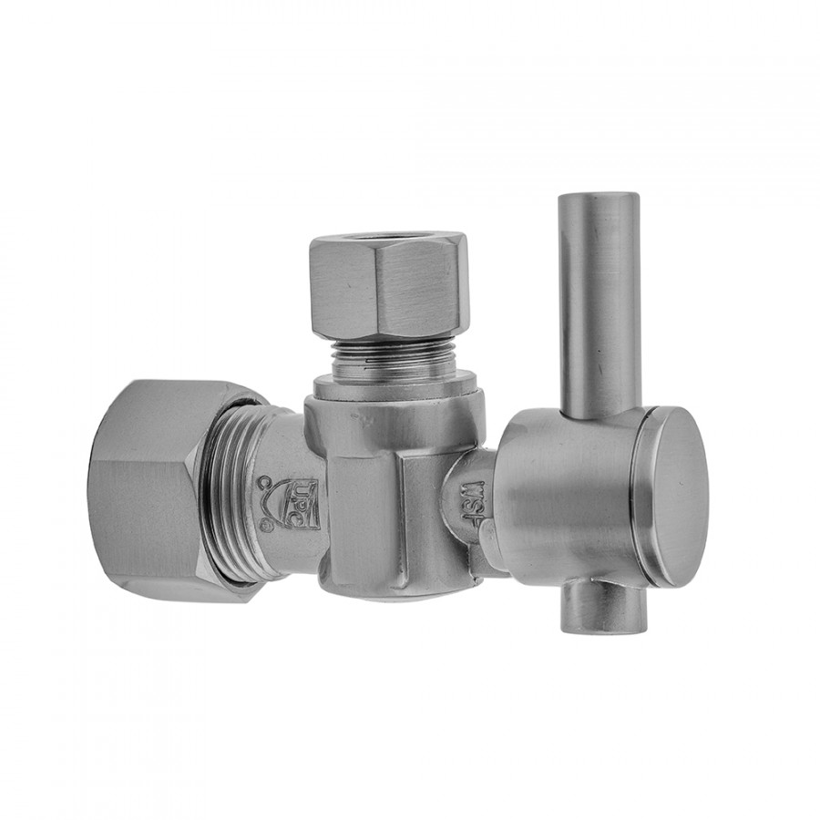 Oil Rubbed Bronze Standard Plumbing Supply Jaclo 621-2-ORB 5//8 OD x 3//8 OD Angle Valve with Lever