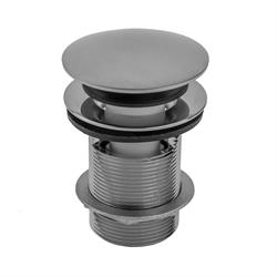 3 Satin Brass Jaclo 531-75-SB Toe Control Drain Strainer with Single Hole Faceplate